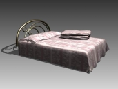 Furniture – beds a019 3D Model