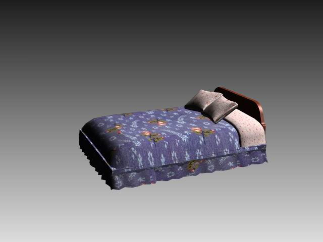 Furniture – beds a024 3D Model