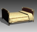 Furniture – beds a027 3D Model