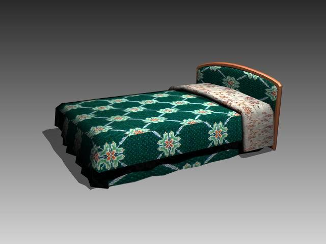 Furniture – beds -��a030 3D Model