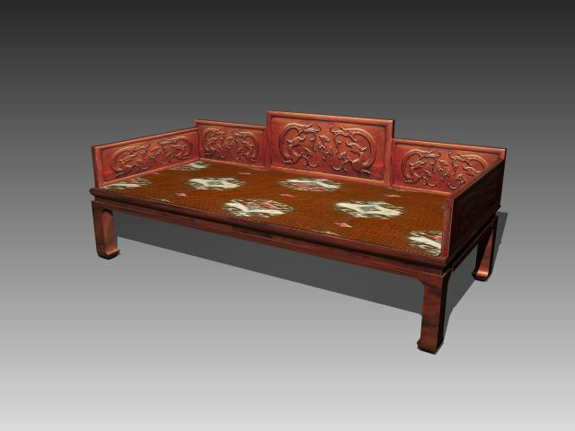 Furniture – beds a034 3D Model