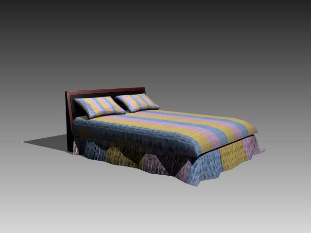 Furniture – beds a036 3D Model
