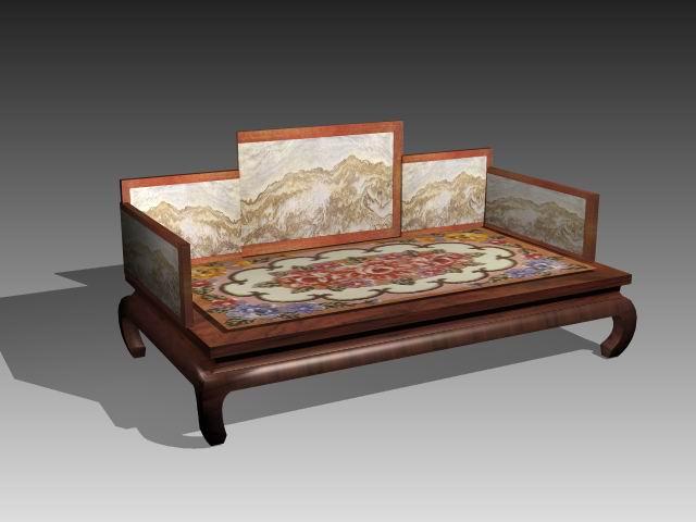 Furniture – beds a037 3D Model