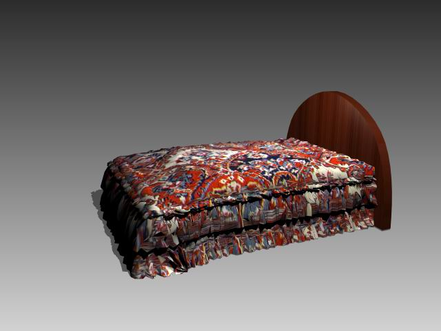 Furniture – beds a039 3D Model