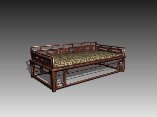 Furniture – beds a044 3D Model