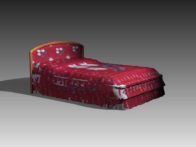 Furniture – beds a046 3D Model