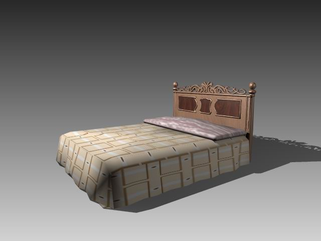 Furniture – beds a049 3D Model