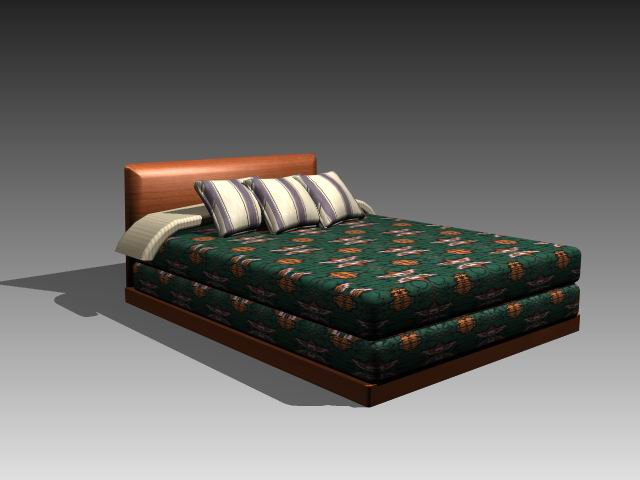 Furniture – beds a050 3D Model