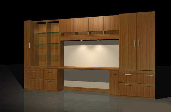 Furniture-Cabinets 001 3D Model