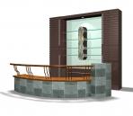Furniture – cabinets 001 – vogue 3D Model
