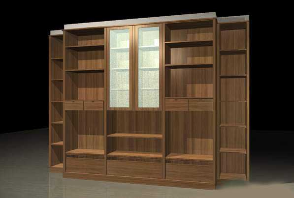 Furniture-Cabinets 004 3D Model