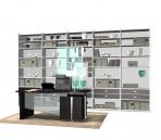 Furniture- cabinets 010 – bookcase 3D Model
