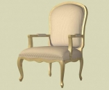 Furniture -chairs a002 3D Model