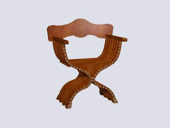 Furniture -chairs a005 3D Model