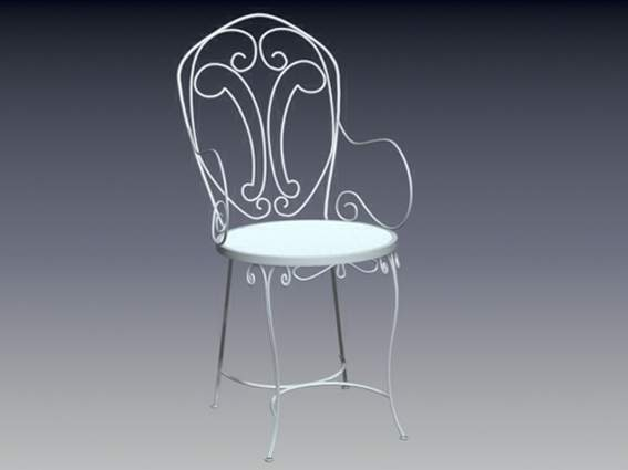 Furniture -chairs a006 3D Model