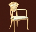 Furniture -chairs a007 3D Model