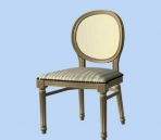 Furniture -chairs a010 3D Model