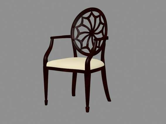 Furniture -chairs  a012 3D Model