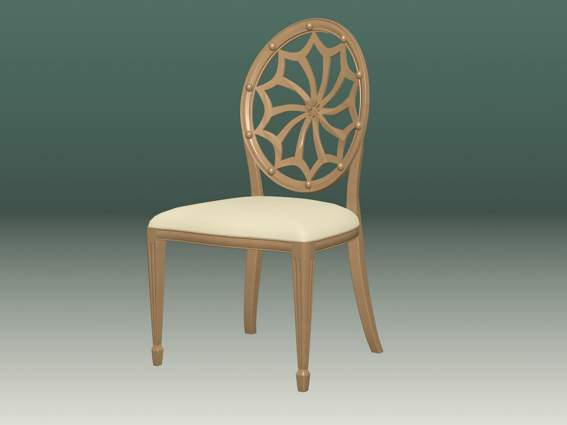 Furniture -chairs a013 3D Model