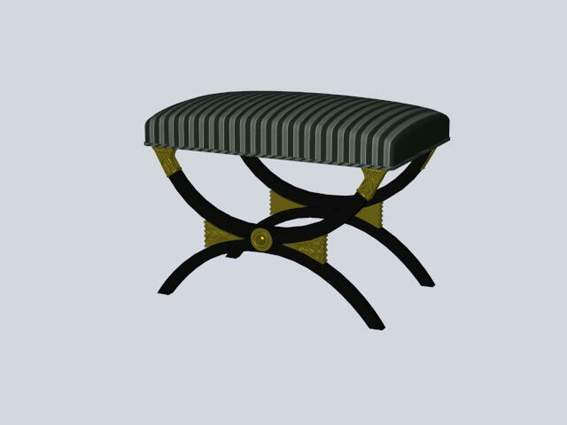 Furniture -chairs a014 3D Model