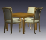 Furniture -chairs a020 3D Model