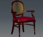 Furniture -chairs a026 3D Model