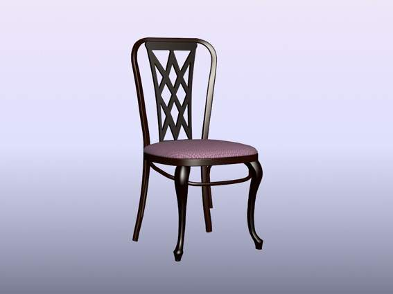 Furniture -chairs a027 3D Model