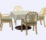Furniture -chairs a028 3D Model