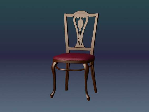 Furniture -chairs a030 3D Model
