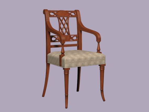 Furniture -chairs a031 3D Model