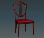 Furniture -chairs a035 3D Model