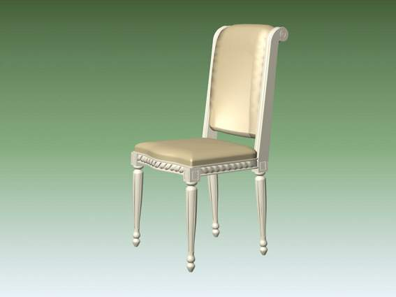 Furniture -chairs a040 3D Model