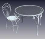 Furniture -chairs a041 3D Model