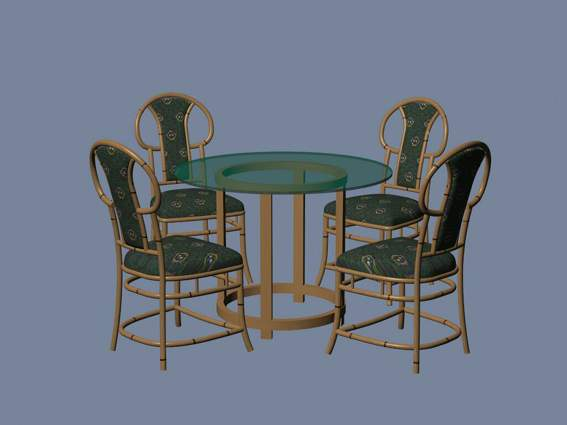 Furniture – chairs a042 3D Model