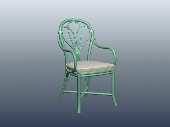 Furniture – chairs a056 3D Model