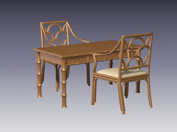 Furniture – chairs a058 3D Model