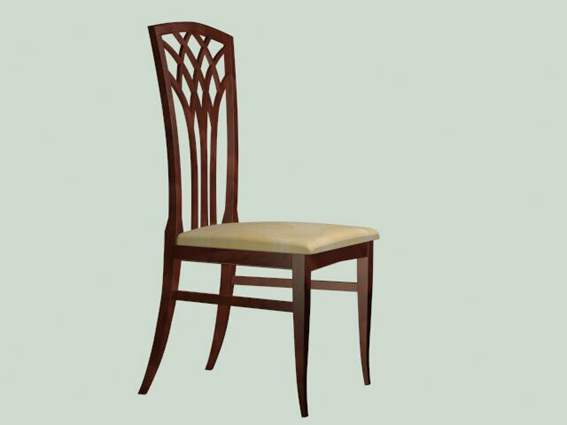 Furniture – chairs a062 3D Model