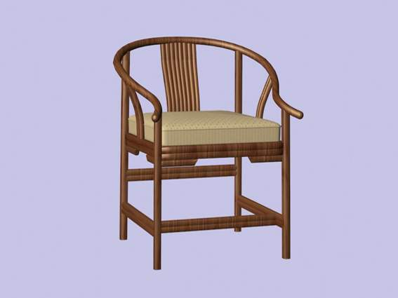 Furniture – chairs a064 3D Model