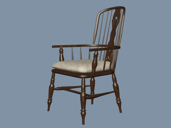 Furniture – chairs a065 3D Model