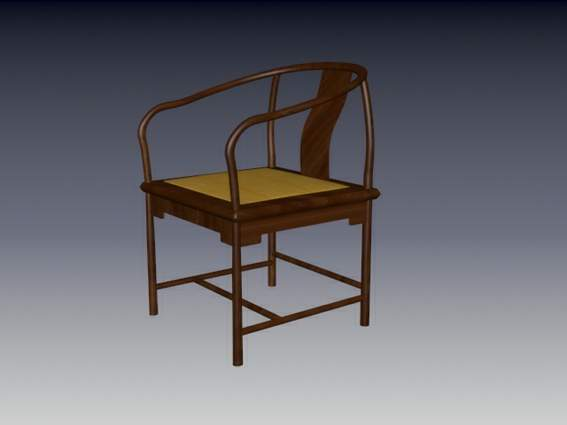 Furniture – chairs a067 3D Model