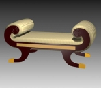 Furniture – chairs a070 3D Model