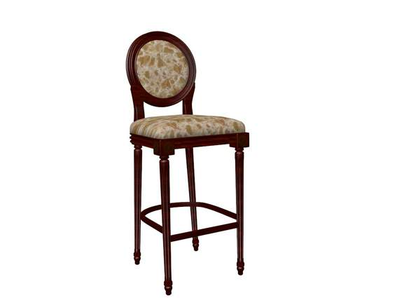 Furniture – chairs a071 3D Model