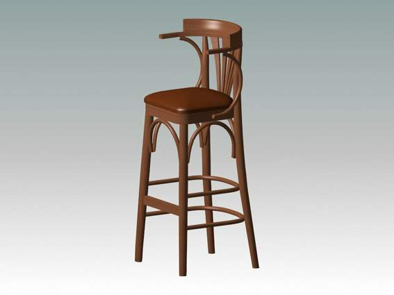 Furniture – chairs a072 3D Model
