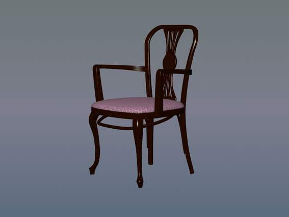 Furniture – chairs a074 3D Model