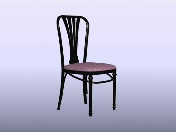 Furniture – chairs a075 3D Model