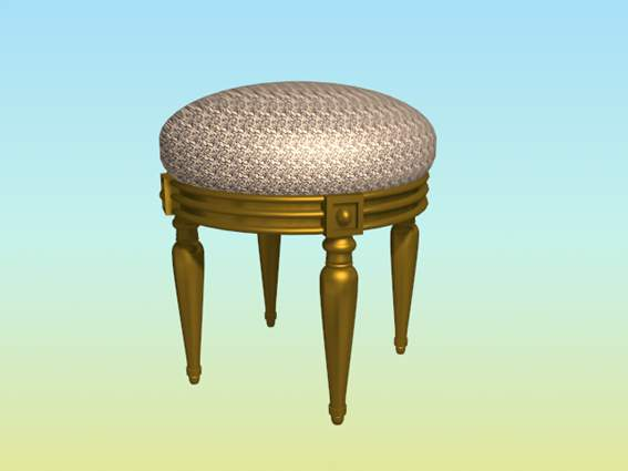 Furniture – chairs a076 3D Model