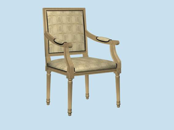 Furniture – chairs a078 3D Model