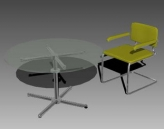 Furniture – chairs a085��106�� 3D Model