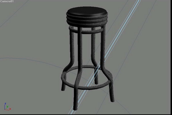 Furniture combination 002-chairs 72 3D Model