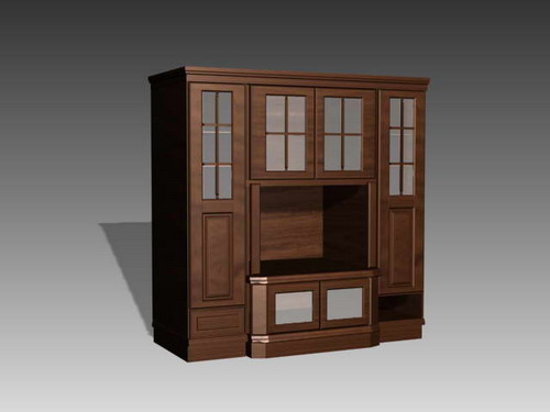 Furniture -counters 016��90�� 3D Model